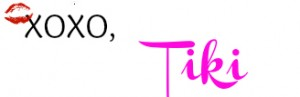a picture of Tiki's signature for the Grow It Girl site