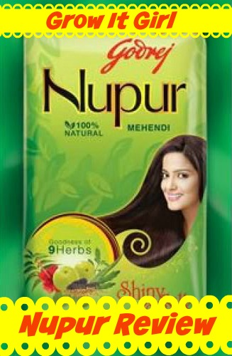 Mehndi Henna Ingredients : Nupur henna review