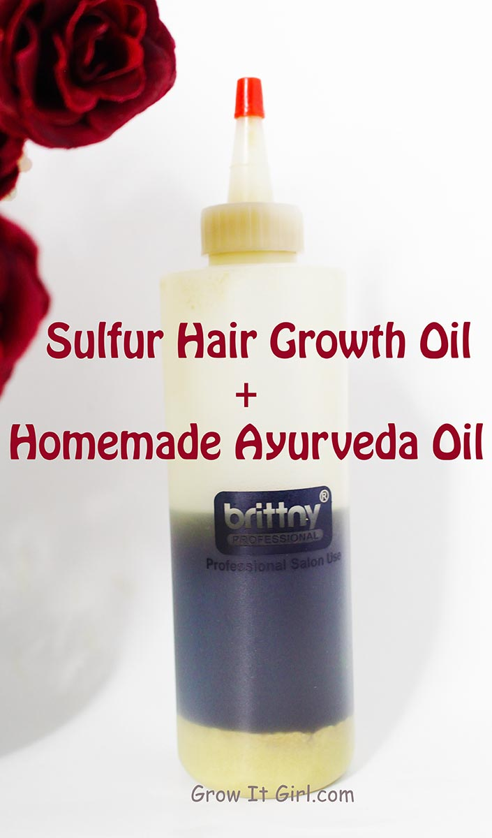 Sulfur Hair Growth Oil Recipe