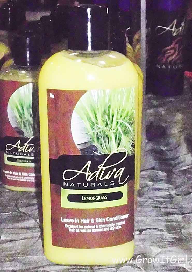 Adiva Naturals Lemongrass Hair and Body Conditioner