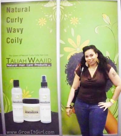 Taliha Waajd Natural Health and Beauty Show