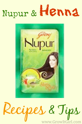 Nupur and Henna Recipes and Tips. Sharing recipes and tips for any henna brand.