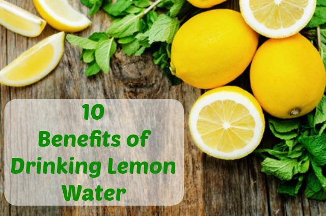 10 benefits of lemon water