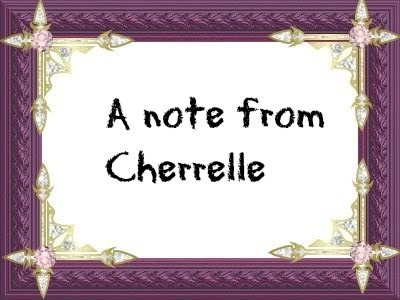 An note from cherrelle