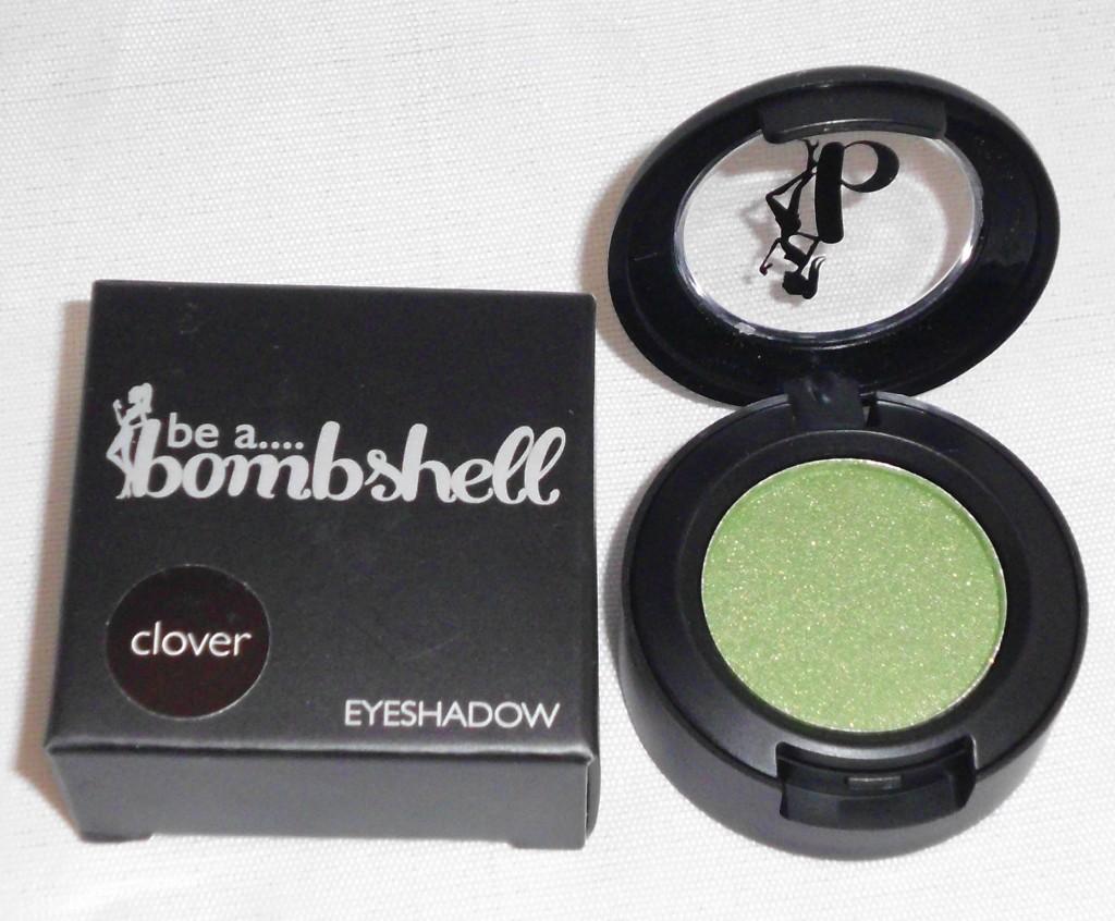 Be Bombshell Clover Eyeshadow beauty box 5 august 2013