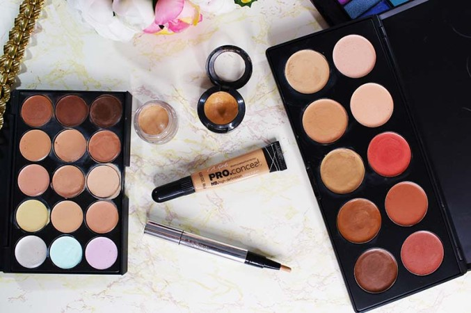 Answering the question of how to use concealer with liquid, cream, and powder foundation. www.growitgirl.com