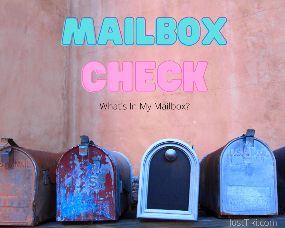 Mailbox Check_What's In My Mailbox