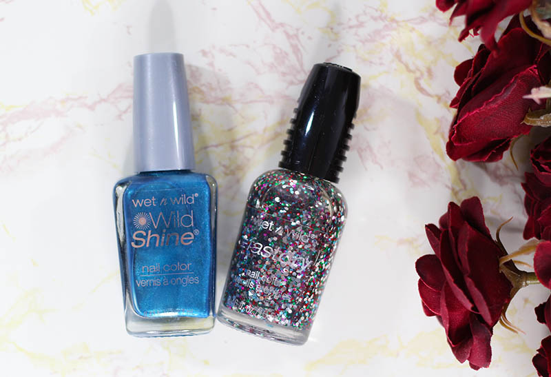 Holiday Blues Manicure feature Wet n Wild Nail Polish