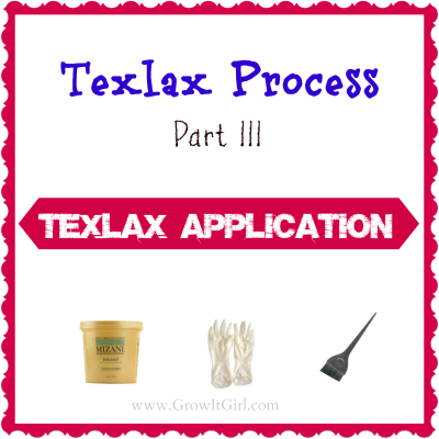 Texlax Process Part III: Texlax Application