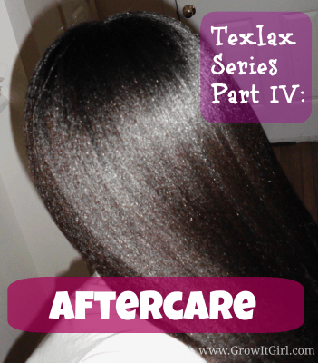 Texlax Aftercare
