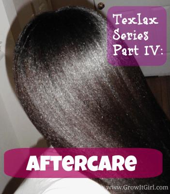 Texlax Process Part IV: Aftercare