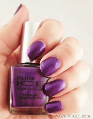 manicure monday pure ice no means no nail polish