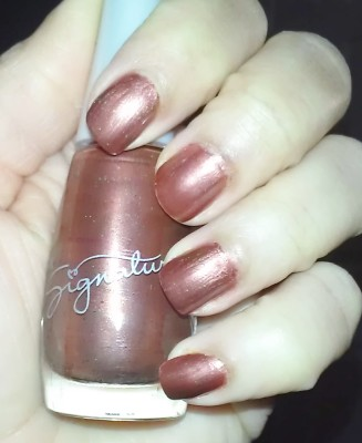 Manicure Monday Chocolate Kiss