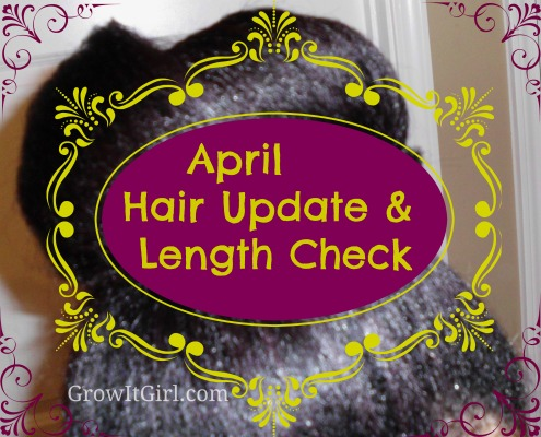 April length check & hair update