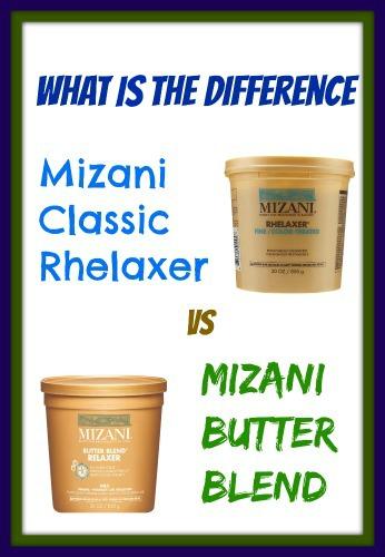 Mizani Classic Rhelaxer versus Mizani Butter Blend