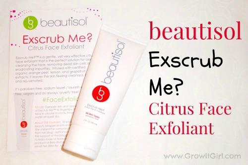 Beautisol's Exscrub Me