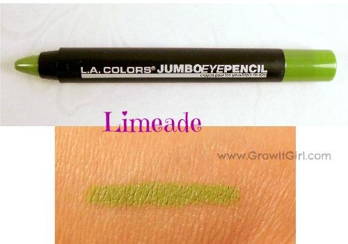 LA Colors Mini Haul Limeade Jumbo Eye Pencil