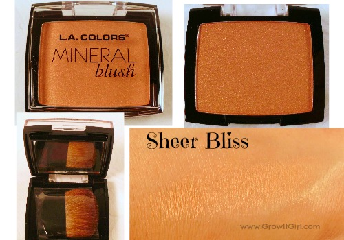 LA Colors Sheer Bliss Mineral Blush