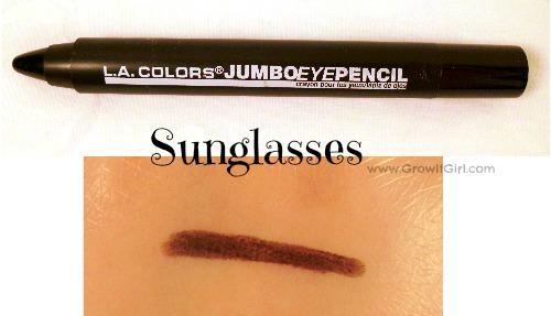 LA Colors Sunglasses Jumbo Eye Pencil