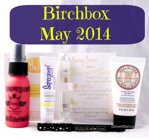 Birchbox may 2014
