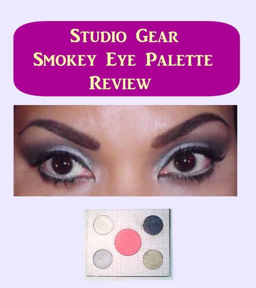 Studio Gear Smokey Eye Palette Demo #EOTD