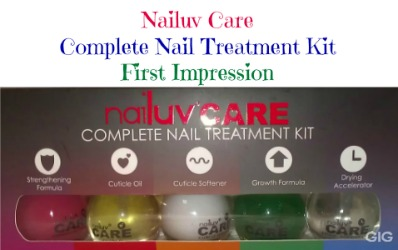 nailuv care complete nail treatment kit thumbnail