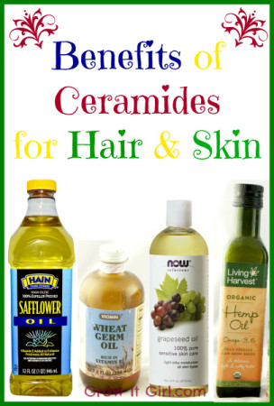 Benefits of ceramides for hair and skin icon