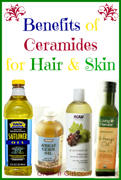 Benefits of ceramides for hair and skin