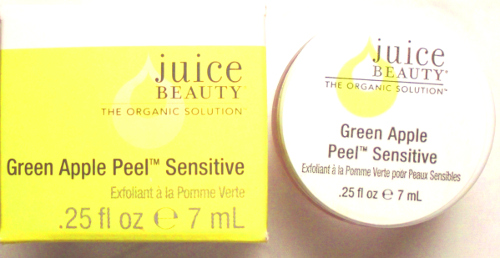 Juice Beauty Green Apple Peel Sensitive sample size box-jar