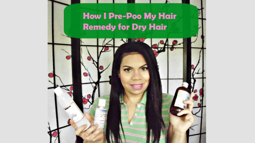 How to Pre-Poo Texlaxed Hair