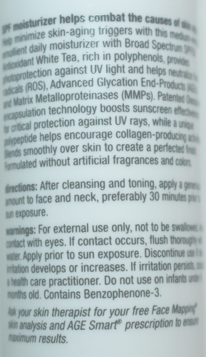 Dermalogica Dynamic Skin Recovery Back Label and Description
