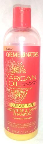 henna wash day creme of nature sulfate free shampoo
