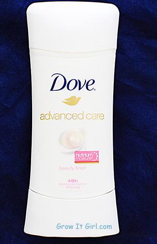 Dove Advance Care Deodorant Summer Sleeveless Challenge Beauty Finish
