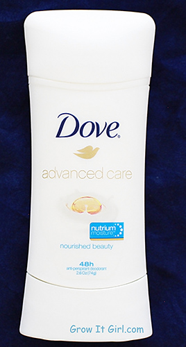 Dove Advance Care Deodorant In Nourished Beauty
