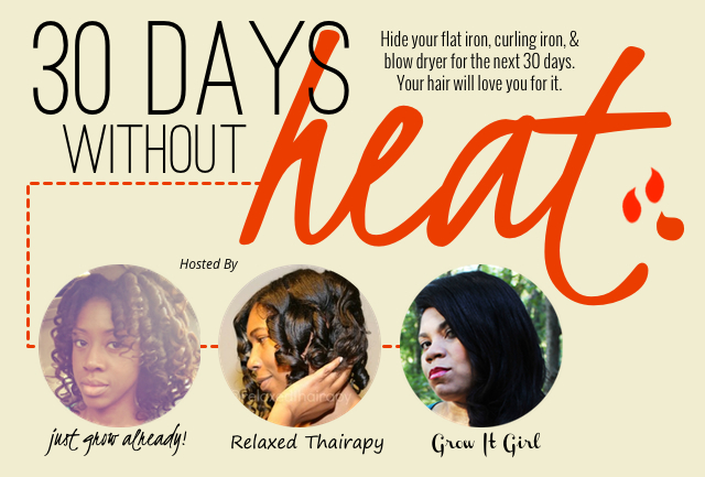 30 Days Without Heat Challenge