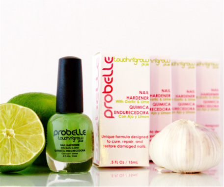 Probelle Touch N' Grow Nail Hardener Garlic and Lime Formula 2