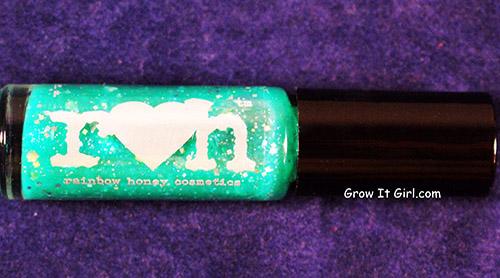 Rainbow Honey September 2014 Salacia Glitter Polish