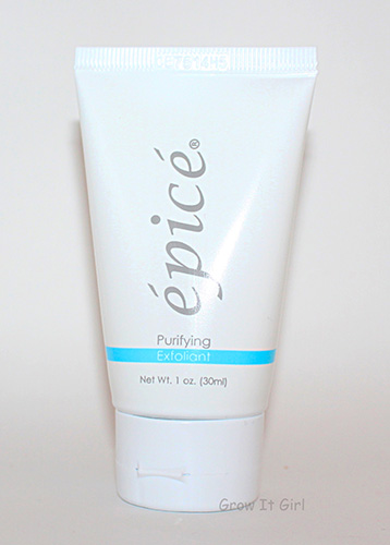 Epice Purifying Exfoliant from the October Ipsy Bag 2014