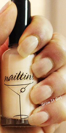 Frappe by Nailtini Swatch