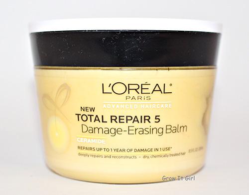 L'Oreal Total Repair 5 Damage Erasing Balm for Detangling Post Braidout