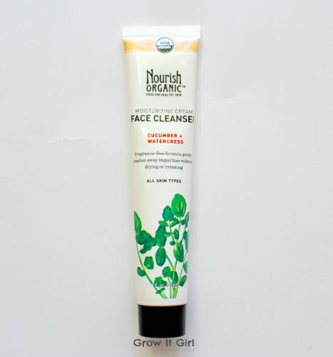 Nourish Organic Face Cleanser September 2014 Ipsy Bag