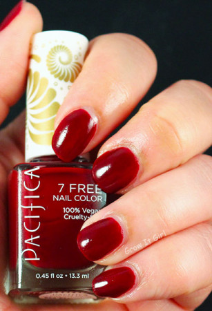 Red Red Wine Pacifica Polish | Swatch and First Impression #NOTW