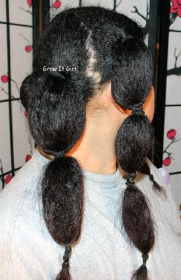 Banding Method to Air Dry Hair