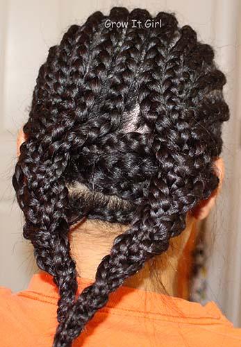Wig Braid Pattern