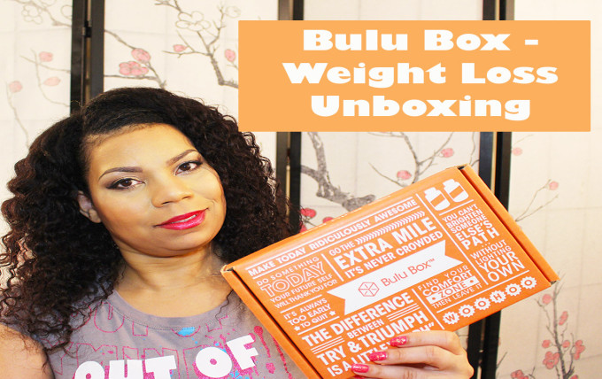 Bulu Box Weight Loss Unboxing November 2014