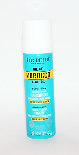 Marc Anthony Oil of Moracco Argan Oil Volumous Hairspray