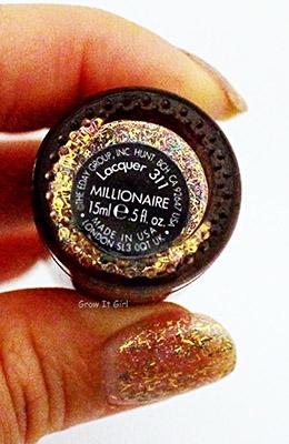 Nailtini Millionaire Nail Polish Label