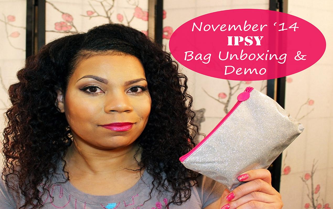 November Ipsy Bag Unboxing!