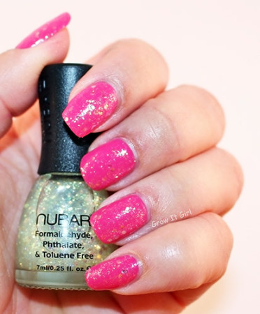 Nubar Kristal Polish and Julep Raegan Manicure