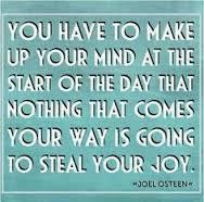 steal joy
